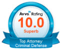 Chris Westmoreland Attorney with 10.0 Avvo Rating for Criminal Defense